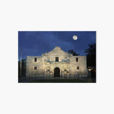 Remembering The Alamo Art Board Print