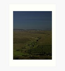 Wind Farms on Inishowen Peninsula Art Print