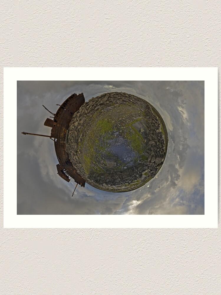 Alternate view of The Plassey Wreck,  Inisheer Art Print