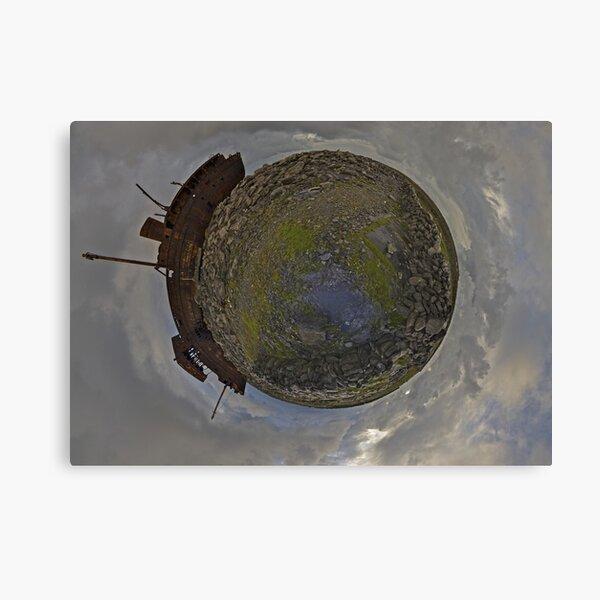 The Plassey Wreck,  Inisheer Canvas Print