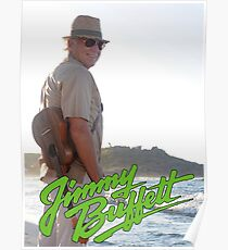 SAN04 Jimmy Buffett and the Coral Reefer Band TOUR 2016 Poster