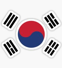 South Korea Sticker