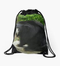 Sloth Bear Drawstring Bag