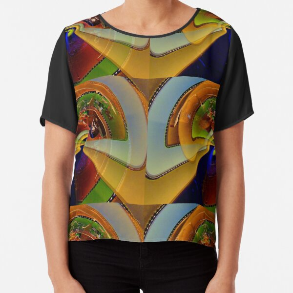 theca of momentary epiphany 32 Chiffon Top
