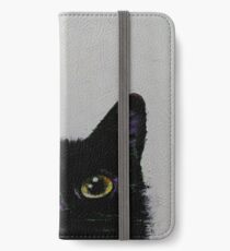 Black Cat iPhone Wallet/Case/Skin