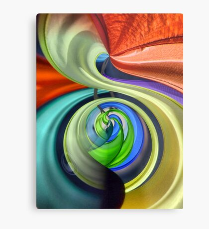 colors in the wind... Metal Print