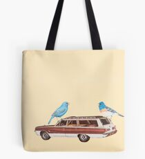 Two Buntings Join the Dodge Rebellion Tote Bag