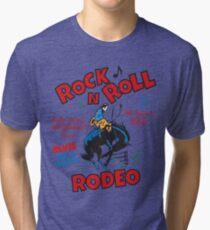 Rock n Roll Rodeo Tri-blend T-Shirt