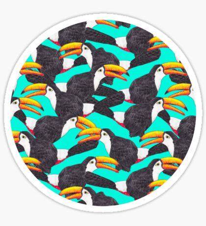 Toucan [green] Sticker