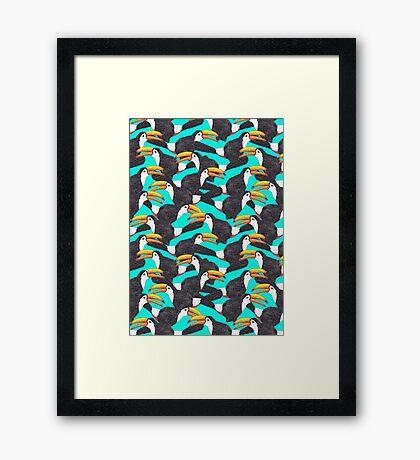 Toucan [green] Framed Print