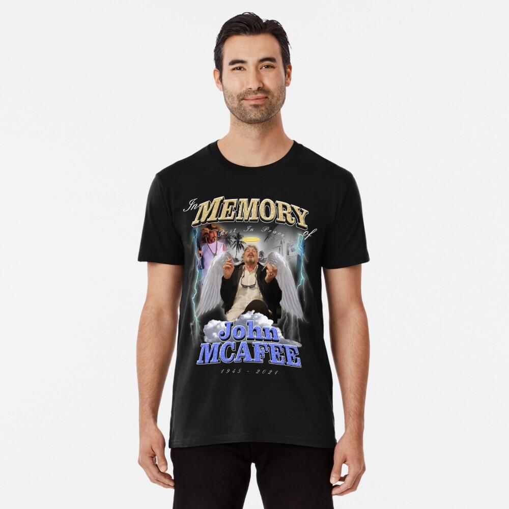 Rest in Peace John McAfee Premium T-Shirt