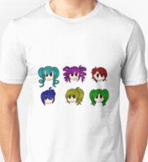Yandere Simulator - Rainbow 6 Girls T-Shirt
