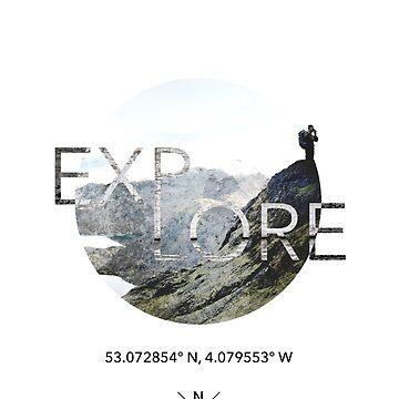 Explore t-shirt  by Jarivip