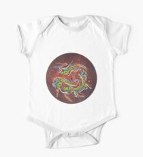 Abstract Blood Orange Fumes Kids Clothes