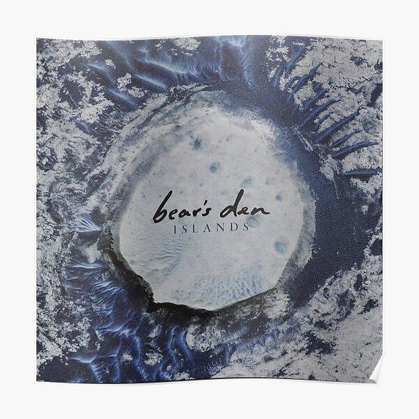 Bear's Den Islands LP Vinyl cover Poster