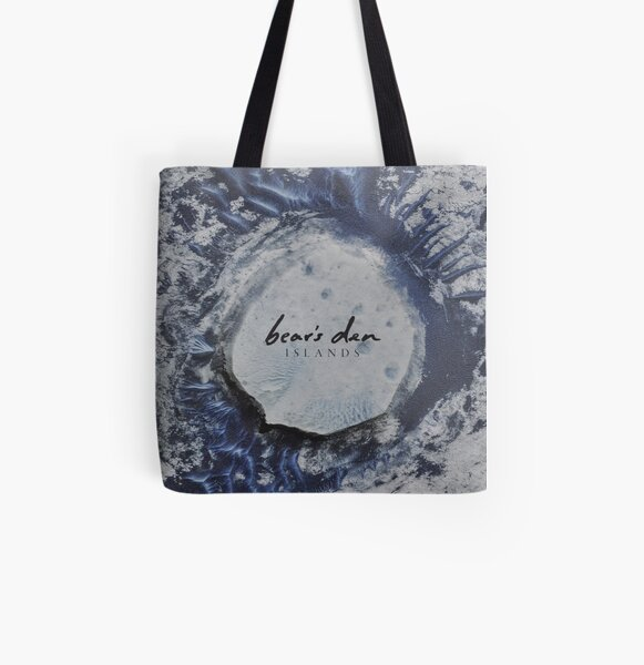 Bear's Den Islands LP Vinyl cover All Over Print Tote Bag