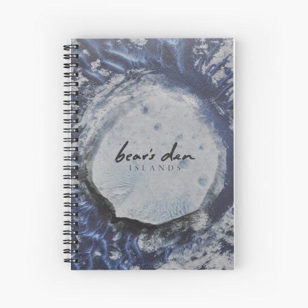 Bear's Den Islands LP Vinyl cover Spiral Notebook