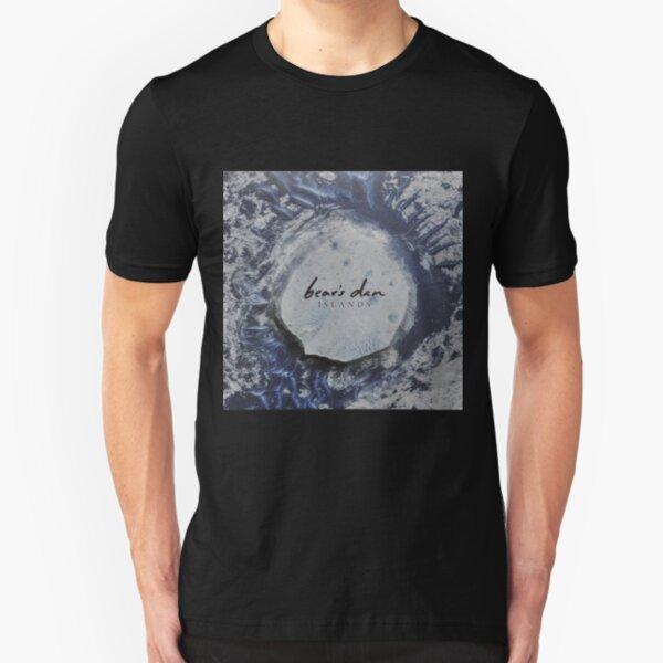 Bear's Den Islands LP Vinyl cover Slim Fit T-Shirt