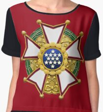 Legion Of Merit Women's Chiffon Top