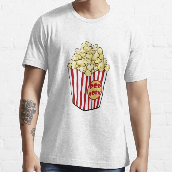 Cartoon Popcorn Bag Essential T-Shirt
