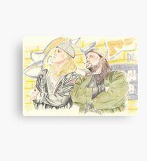 Jay and Silent Bob. Canvas Print