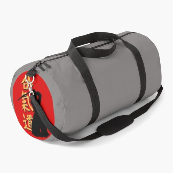 AIKIDO IN RED CIRCLE Duffle Bag