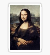 Mona Lisa by Leonardo Da Vinci Sticker