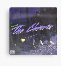 Dr. Dre - The Chronic (fan made album cover) Canvas Print