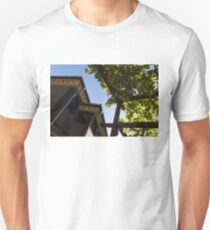 Summer Courtyard - Decorated Eaves and Grape Arbors in the Sunshine Unisex T-Shirt
