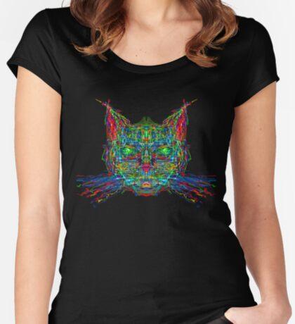 Tapetum lucidum Fitted Scoop T-Shirt