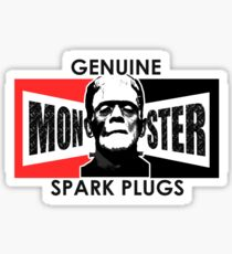 Genuine Monster Spark Plugs Sticker