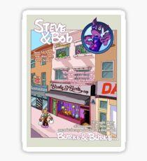 Burke & Burke Sticker