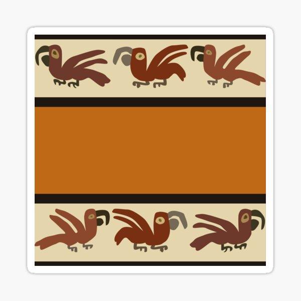 Nazca Macaws Sticker