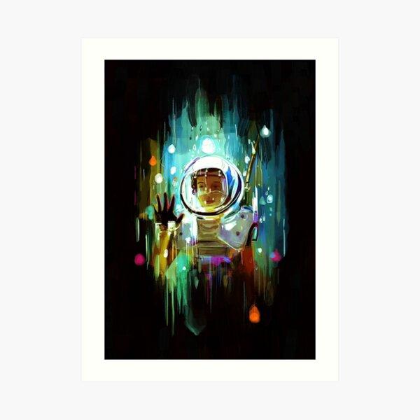 Stranger Things (Eleven) Art Print