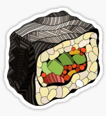 Sushi illustration Sticker