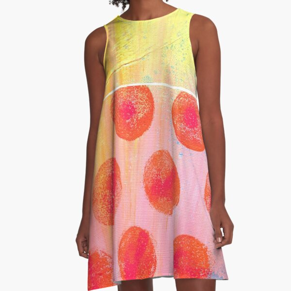"""Spot The Love"" Original design by PhillipaheART A-Line Dress"