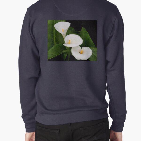 Arum lillies Pullover Sweatshirt
