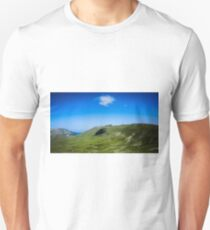 Lone Cloud Over The Mountain T-Shirt