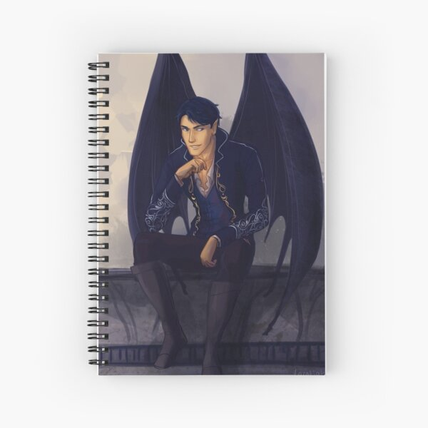High Lord of the Night Court Spiral Notebook