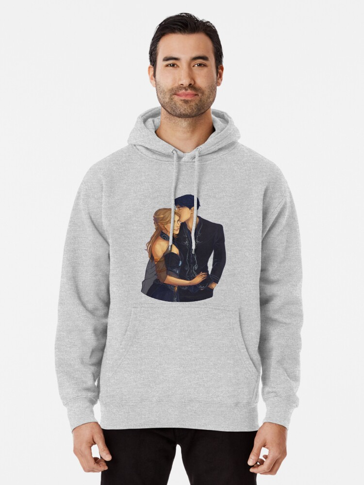 Alternate view of Feyre and Rhysand Pullover Hoodie
