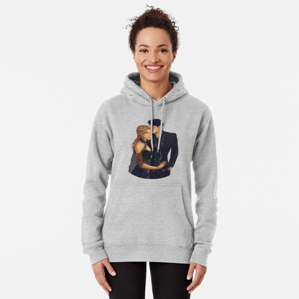 Feyre and Rhysand Pullover Hoodie