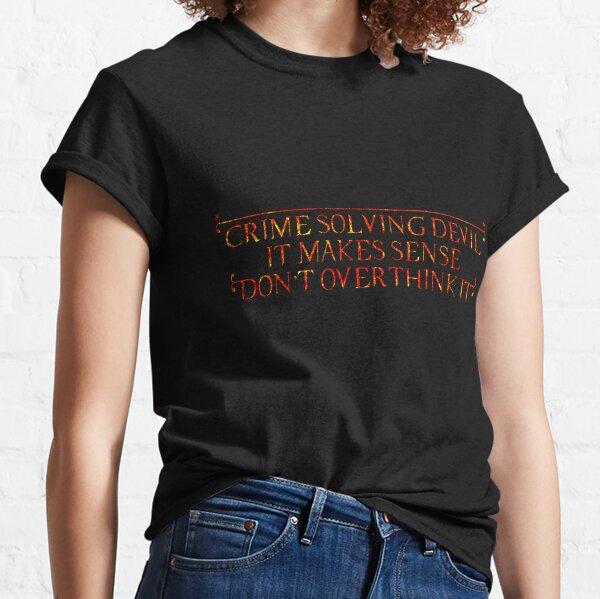 Crime Solving Devil - Lucifer Classic T-Shirt