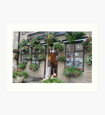Giftshop in cottage style Art Print