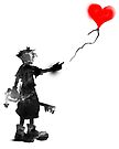 the boy,the key,the balloon by frederic levy-hadida