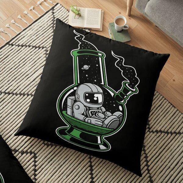 Astronaut Bong Cartoon Character Floor Pillow