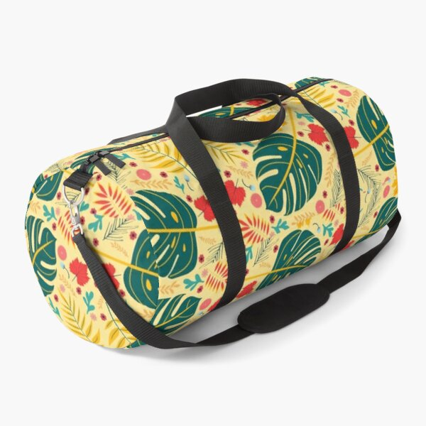 Colorful Leaves Pattern Duffle Bag