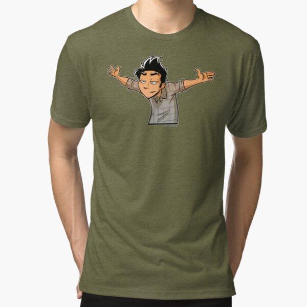 No further questions Tri-blend T-Shirt
