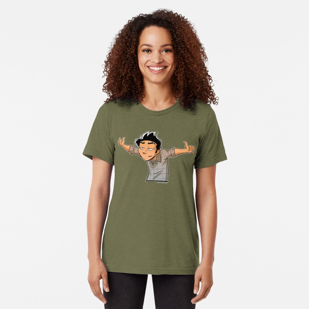No further questions Tri-blend T-Shirt
