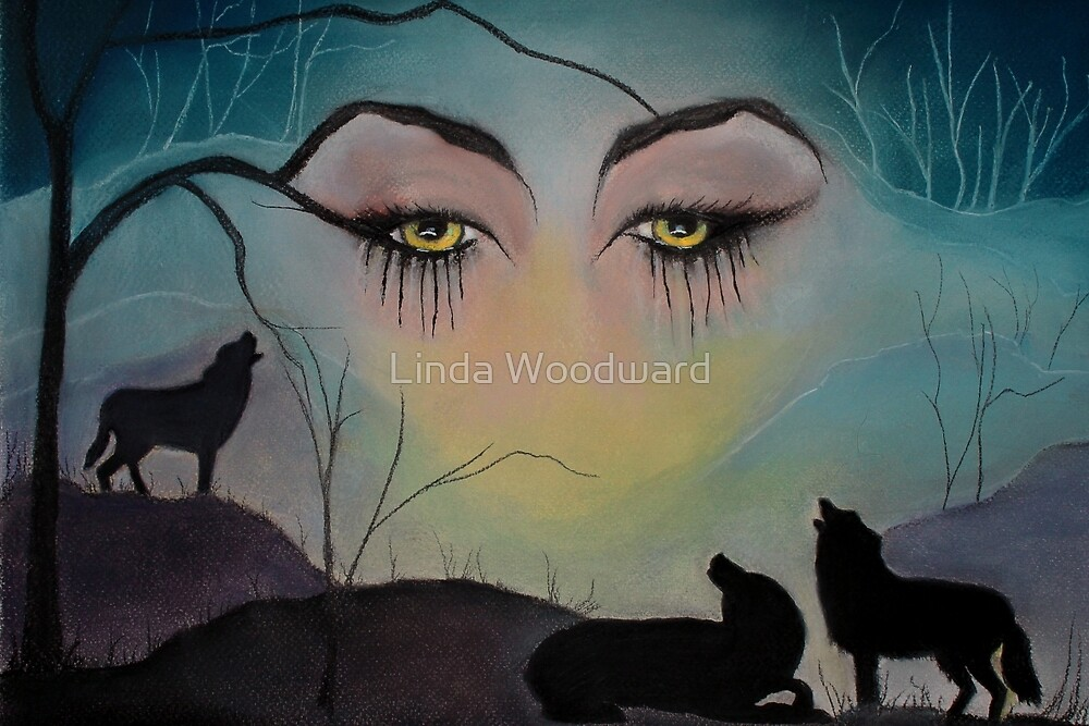 The Wolf Goddess by Linda Woodward