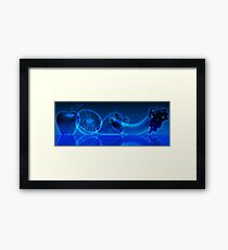 fruit line Framed Print